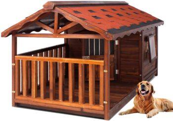 casas para perros caras