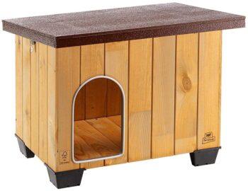 casitas de madera para perros medianos