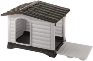 casas para perros medianos de plastico