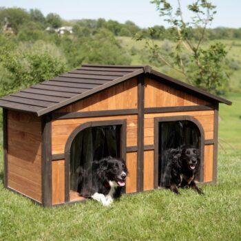 casetas para 2 perros grandes