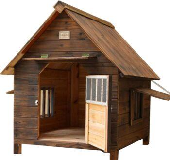 casas para perros con puerta