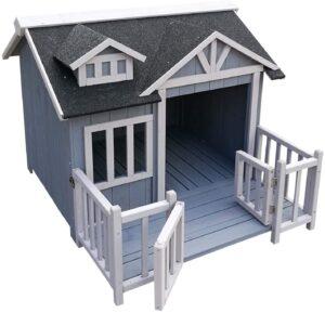 casetas para perros con terraza